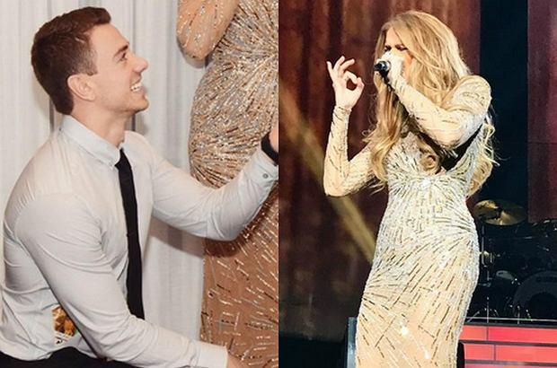Po koncercie Celine Dion jeden z jej fanów postanowił oświadczyć się. Miny artystki przebiły nawet reakcję jego ukochanej.