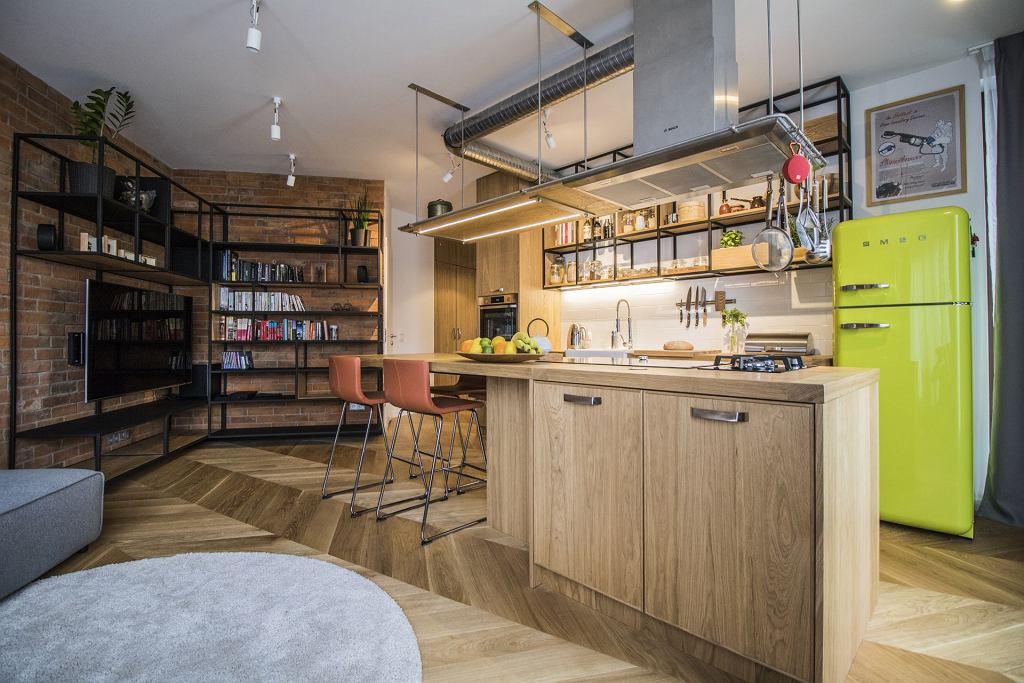 Mieszkanie Szefa Kuchni W Stylu Soft Loft