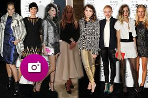 Joanna Przetakiewicz oraz ikony świata mody na otwarciu wystawy Chanel w Londynie