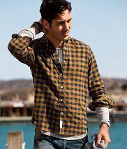 Koszula z kolekcji H&M. Cena: 99,90 zł, moda męska, koszule męskie, h&m, Męskie koszule: klasyka w kratę