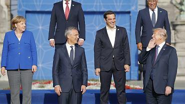 Szczyt NATO w Brukseli, 11 lipca 2018
