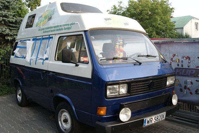 volkswagen t3 westfalia samoch243d marze�