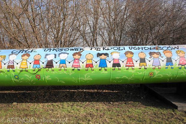 Uchod cy z o rodka w warszawie w polsce nie jest tak for Mural ursynow