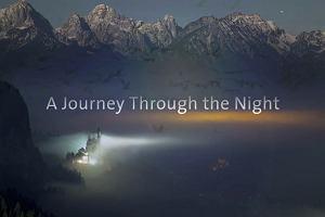 Nocna podróż przez Niemcy
