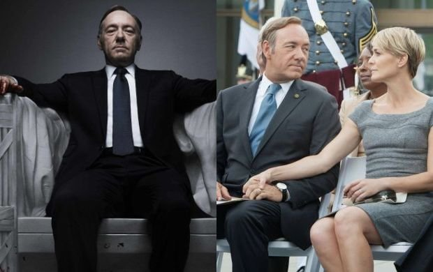 Kevin Spacey i Robin Wright