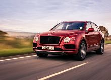 Luksusowy Bentley Bentayga z nowym silnikiem V8