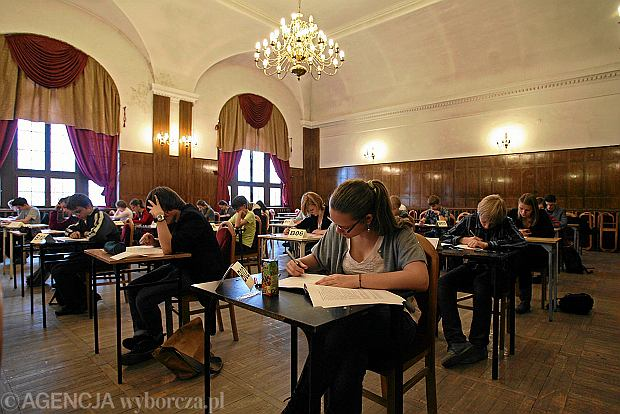 Tak wygl�da� pr�bny egzamin gimnazjalny 2012/2013