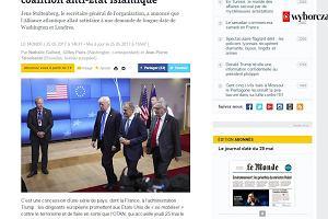 """Światowe media o Trumpie na szczycie NATO - """"Pokazał sojusznikom środkowy palec"""""""