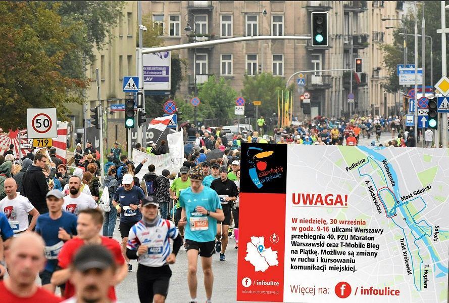 40. Maraton PZU przebiegnie ulicami Warszawy
