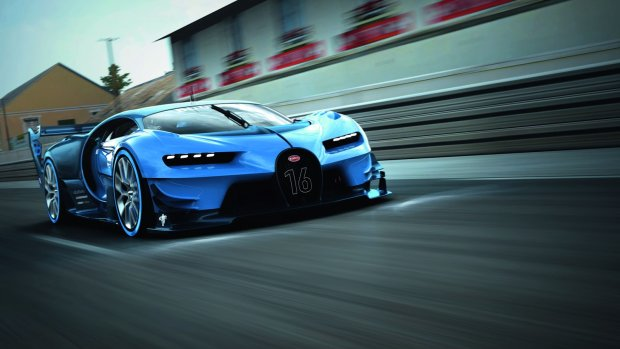 Salon Frankfurt 2015   Bugatti Vision Gran Turismo   Wirtualna rzeczywisto��