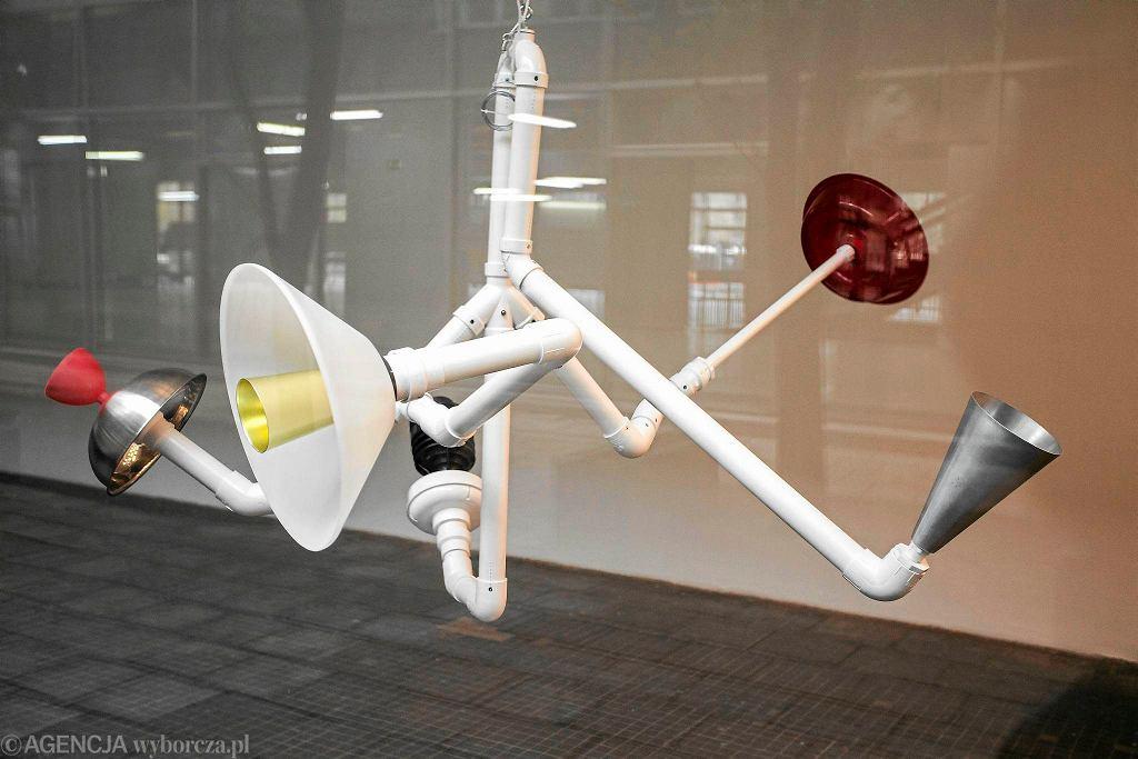 Instalacja Davida Tudora 'Rainforest V' w MSN / DAWID ZUCHOWICZ