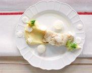 Dorsz na pur�e z sosem beurre blanc