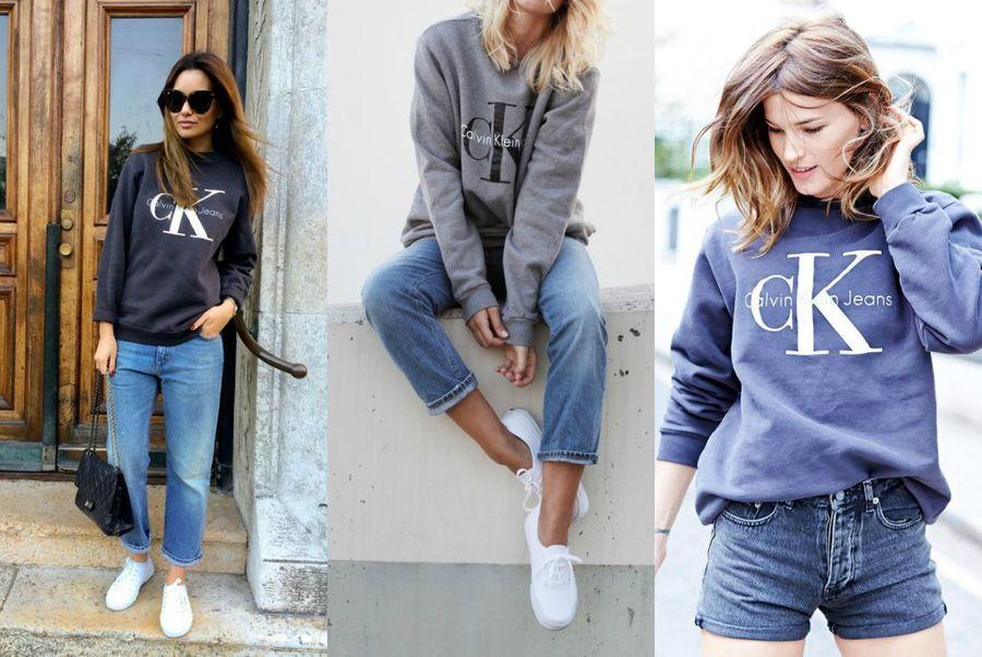 ec8644fe39c87 Bluza Calvin Klein Jeans hitem w sieci - sprawdź jak ją nosić