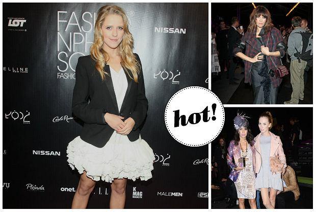 Gwiazdy, blogerki i ludzie �wiata mody na Fashion Week Poland - kto zaprezentowa� si� najlepiej, a kto najgorzej? [ZDJ�CIA]