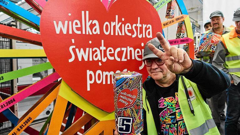 Jurek Owsiak w Łodzi: 'Ruszyła machina i 180 tysięcy skarbonek WOŚP!'