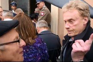 Olbrychski o protestach podczas pogrzebu Jaruzelskiego: Gdyby ks. Popie�uszko �y�, koncelebrowa�by t� msz�