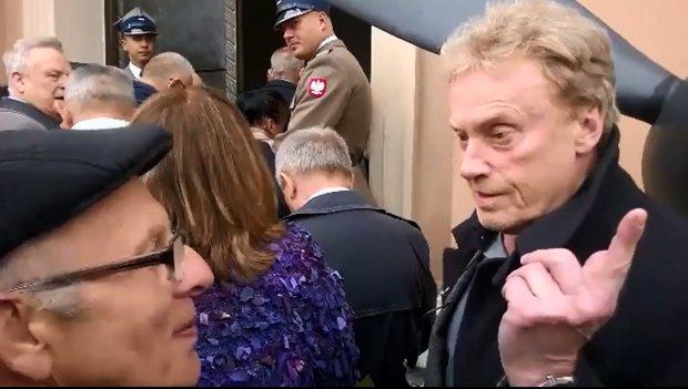 Olbrychski o protestach podczas pogrzebu Jaruzelskiego: Gdyby ks. Popiełuszko żył, koncelebrowałby tę mszę