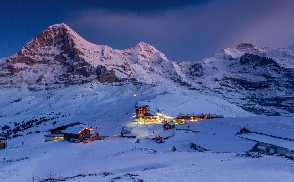 Widok na Eiger, Moench and Jungfrau (fot. Switzerland Tourism - By-Line: swiss-image.ch /Jan Geerk)