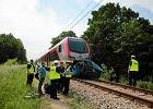Śmiertelny wypadek w Łodzi. Dwie osoby wjechały pod pociąg