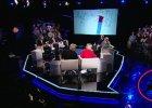 Dziennikarz Polsat News przewrócił się i złamał nogę w programie na żywo