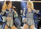 Rihanna wyst�pi�a w Polsce w sportowych kr�tkich spodenkach. Podoba si� Wam?
