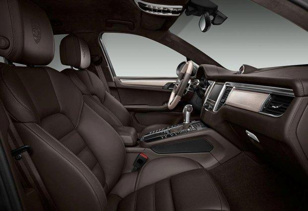 Porsche Macan Wnętrze