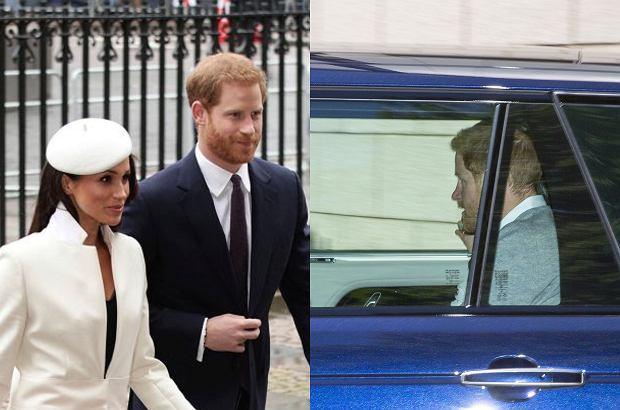 Zdjęcie numer 1 w galerii - Meghan Markle i książę Harry przybyli na generalną próbę przed ślubem. W ważnym dniu nie może dojść do wpadki