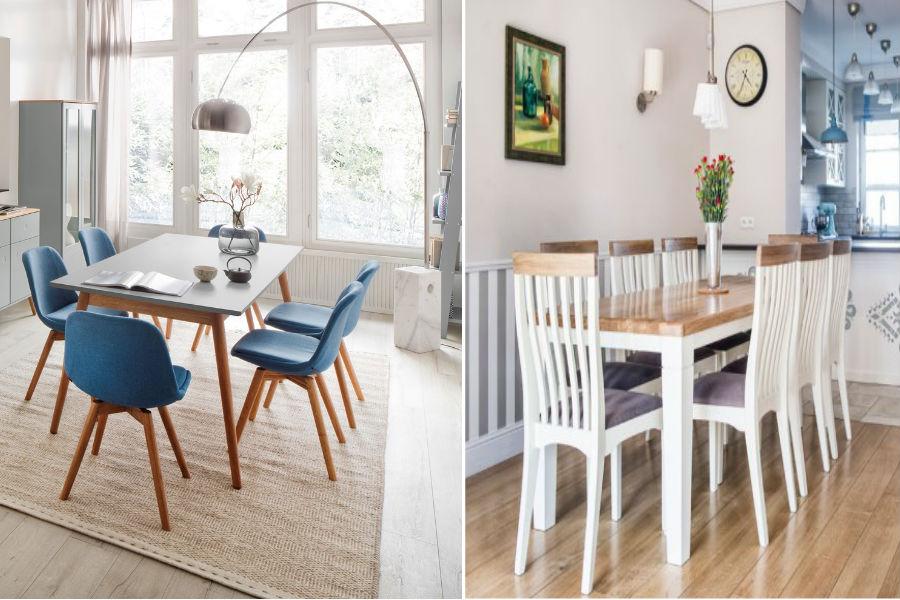 Wybierz stół i krzesła dla swojej rodziny!