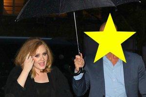 Adele z ochroniarzem