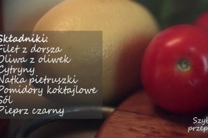Dorsz z pomidorami