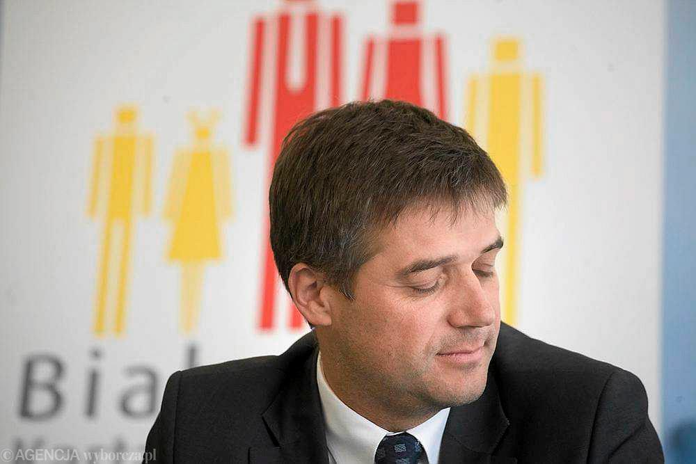 Fot. Jędrzej Wojnar / Agencja Gazeta. Adam Poliński - z14520426P,Adam-Polinski