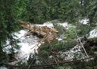 Tatry. TPN szacuje straty po powodzi. Wstępnie ponad 3 mln zł