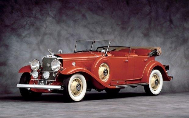 Cadillac 452A Dual Cowl Sport Phaeton z 1931