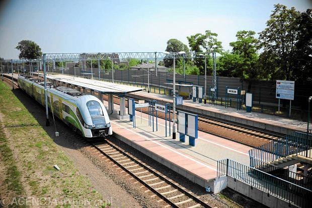 Stacja kolejowa w Modlinie