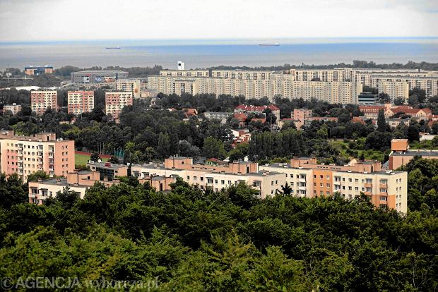 19.07.2013 Gdansk , Oliwa , Pacholek - punkt widokowy . Panorama Gdanska . Fot. Renata Dabrowska / Agencja Gazeta  SLOWA KLUCZOWE: /FR/