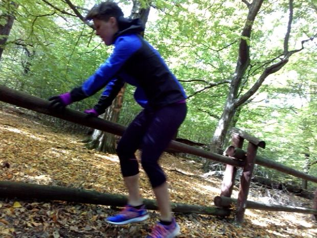 bieganie terenowe, trening, skoczność