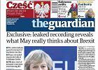 """""""Cześć!"""" - tak wita czytelników na okładce środowy """"Guardian"""""""