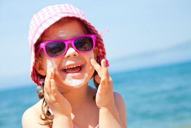 dziecko plaża lato