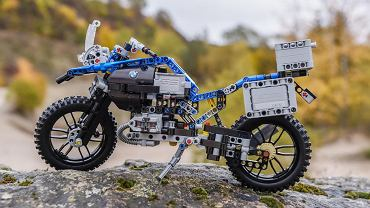 BMW R 1200 GS Adventure z klocków LEGO