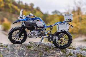 Składamy motocykl BMW z klocków Lego