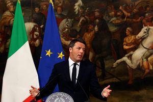 Wstrząs w UE, premier Włoch podaje się do dymisji. Większość przeciwko jego propozycji reform w referendum