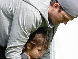 Ashton Kutcher z córką Wyatt