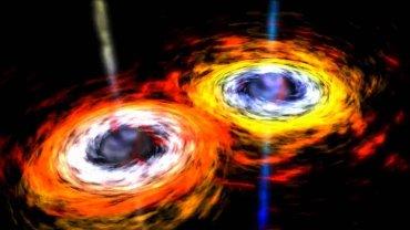 Zderzenie supermasywnych czarnych dziur