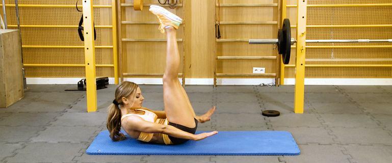 Model Body Workout. Trening na płaski brzuch z Kasią Rain