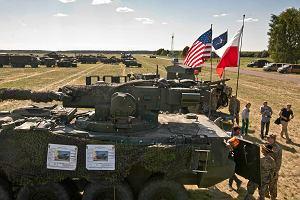 Śmiertelny wypadek na Dolnym Śląsku. Auto wjechało w kolumnę pojazdów amerykańskiej armii