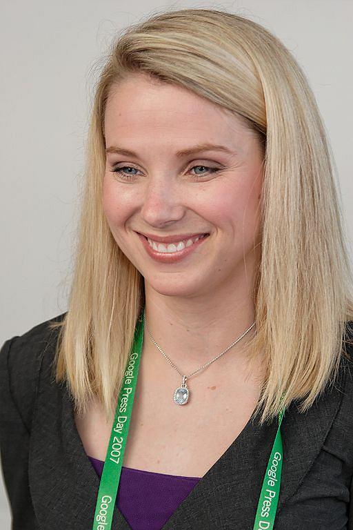 Marissa Mayer - nowa szefowa Yahoo