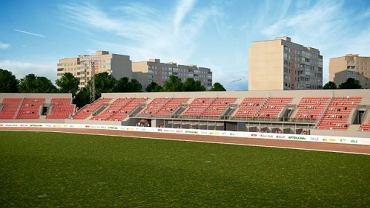 Wizualizacja stadionu Polonii