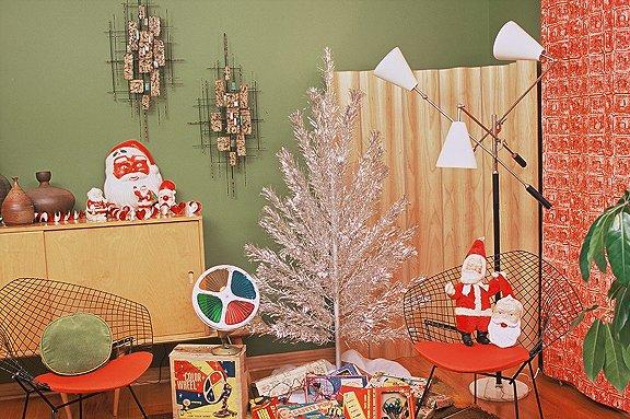 Świąteczne dekoracje retro