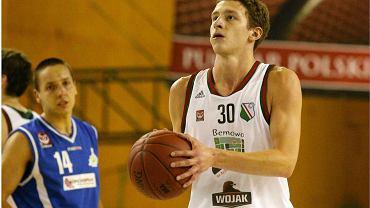Najlepszy strzelec w meczu z Basketem Junior Suchy Las - Mikołaj Motel
