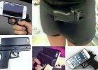 Etui na telefon w kszta�cie broni coraz popularniejsze w USA. Policja apeluje: Nie u�ywajcie ich